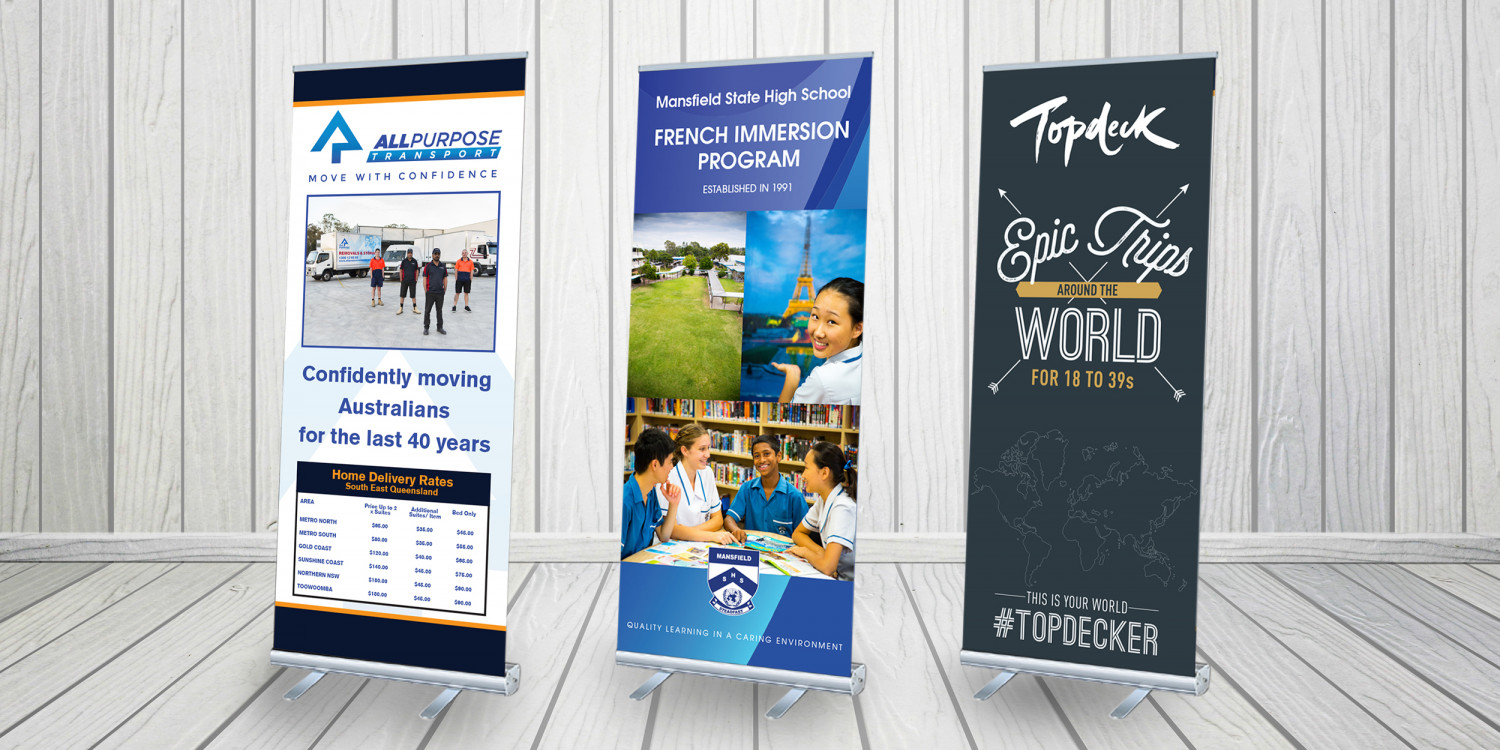 Stylish Pull up Banner Stands – Your Way to Advertising